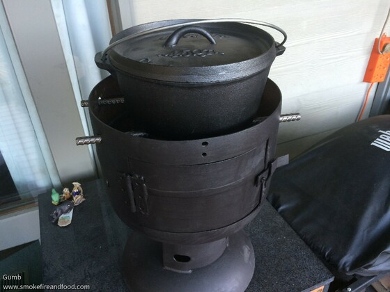 Gas Bottle BBQ Conversion
