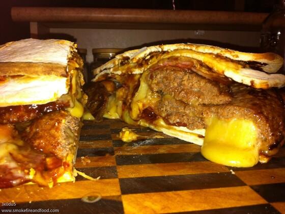 Epic Pizza Burger
