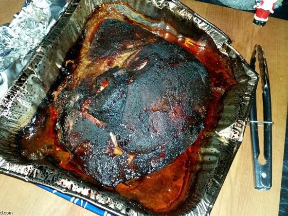 16 Hour Pork Shoulder