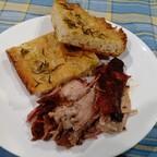 Pulled Pork and Crispy Focaccia