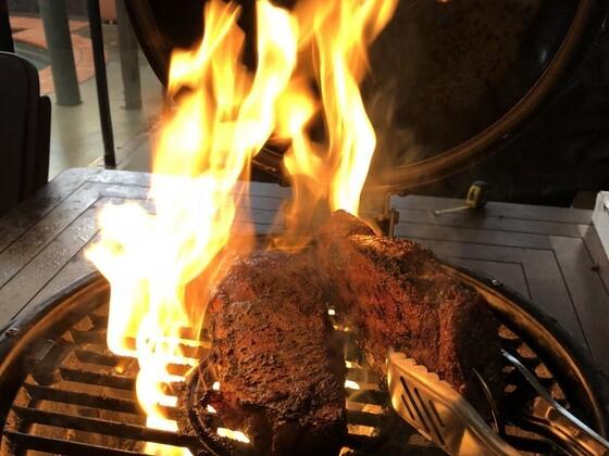 Sear that steak.